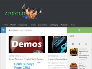 Arnold's Blog website is now responsive