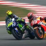 Rossi & Marquez SepangGP clash